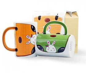 Cute Bunny Handbag Shape Cup 02