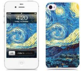 Handmade iPhone Cases-Starry Night(iPhone 4/4S,iPhone 5)