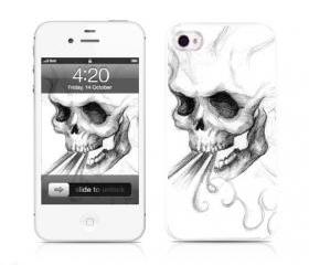 Handmade iPhone Cases- Evil Blow(iPhone 4/4S,iPhone 5)